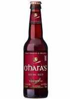OHaras Irish Red - 4,3% alc.vol. 0,33l - Red Ale