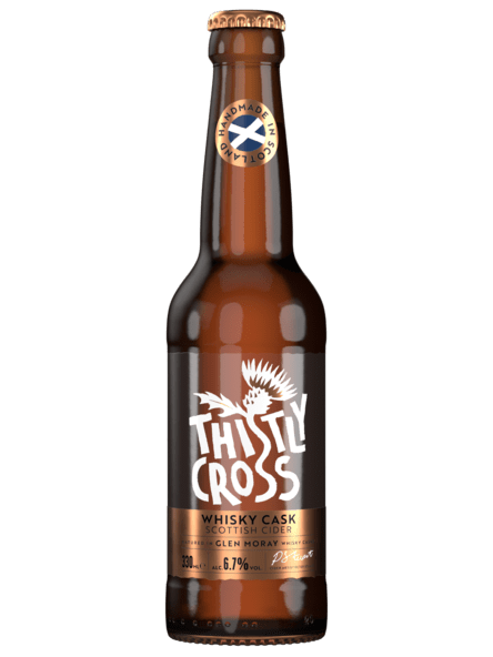 Thistly Cross - Whisky Cask - 6,9% alc.vol. 0,33l - Cider fassgereift