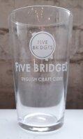 Five Bridges - Ciderglas - Pint Becherlgas