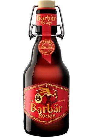 Lefebvre - Barbar Rouge - 8,0% alc.vol. 0,33l - Honigbier +