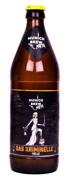 Munich Brew Mafia - Das Kriminelle Helle - 5,0% alc.vol. 0,5l - Kellerbier