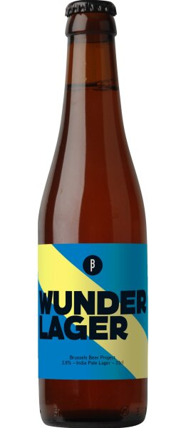 Brussels Beer Project - Wunder Lager - 3,8% alc.vol.0,33l - Lager