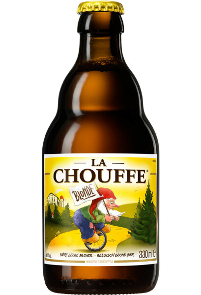 Chouffe Blonde - 8,0% alc.vol. 330ml - Belgisches Blonde