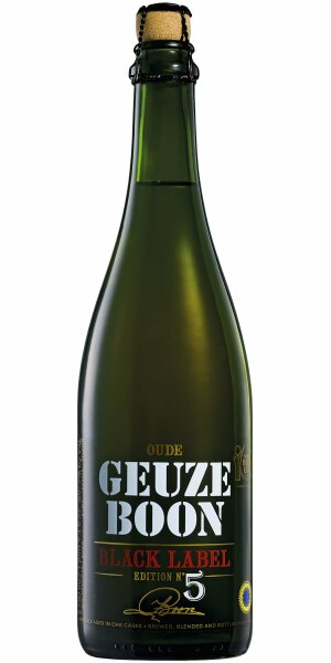 Boon - Oude Geuze Black Label No 5 - 7,0% alc.vol. 0,75l - Limited Edition
