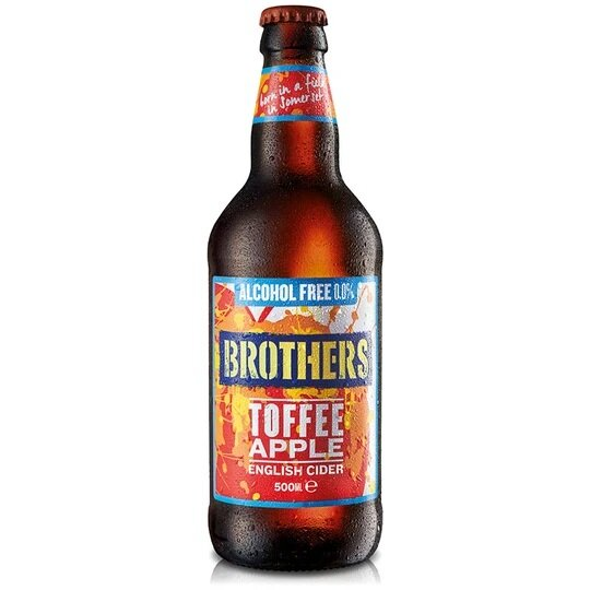 Brothers - Toffee Apple Alcohol Free - 0,0% alc.vol. 0,5l - Fruchtcider alkoholfrei