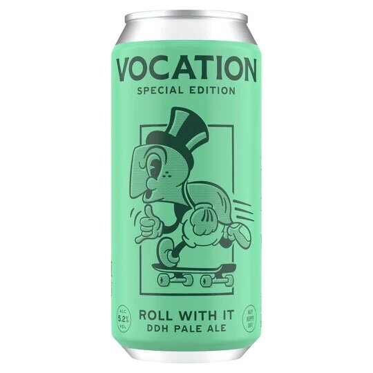 Vocation - Roll with it - 5,2% alc.vol. 0,44l - DDH Pale Ale